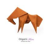 Origami horse Royalty Free Stock Image
