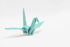 Origami humming-bird Stock Photo