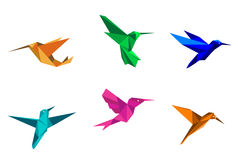 Free Origami Hummingbirds Stock Images - 29016984