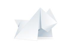 Origami Hund. Lizenzfreies Stockbild