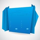 Origami infographic ontwerp Royalty-vrije Stock Foto's