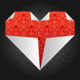 Origami Inneres Lizenzfreies Stockbild