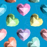 Origami Inneres Nahtloses vektormuster Lizenzfreie Stockfotos