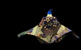 Origami-König lizenzfreie stockbilder