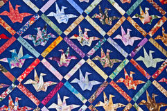 Origami kołderki wzór Obraz Stock