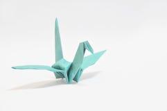 Origami Kolibri stockfoto
