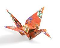 Origami kran Royaltyfri Fotografi