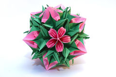 Origami kusudama Royalty Free Stock Photos