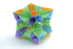 Origami kusudama Stock Photos