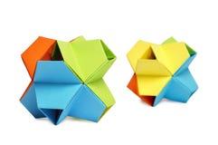 Origami kusudama Stock Images