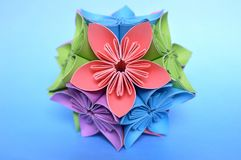 Origami kusudama flower ball stock photo image of asian origami kusudama flower ball stock photos mightylinksfo