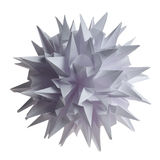 Origami kusudama Virus Stock Photography