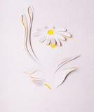 Origami kwiat Zdjęcia Stock