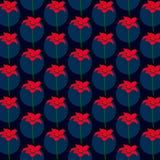 Origami kwiatu wzoru wektor Obrazy Stock
