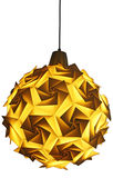 Origami lamp isolated royalty free stock photo