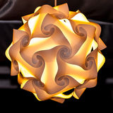Origami lamp Royalty Free Stock Photo