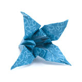 Origami  lily model Royalty Free Stock Images