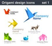 Origami Logo set 1