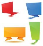 Origami Luftblase Lizenzfreie Stockfotografie