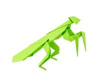 Origami mantis Royalty Free Stock Photos