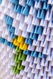 Origami med papper Royaltyfri Foto