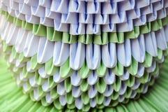 Origami med papper Royaltyfri Bild