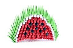 Origami melon Stock Image