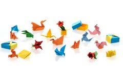 Origami minúsculo imagens de stock royalty free