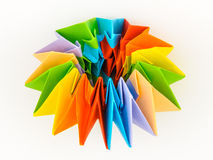 Origami model paper Royalty Free Stock Photos