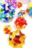 Origami modular - stars Stock Photo