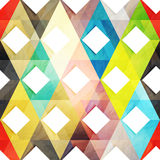 Origami mosaic Royalty Free Stock Photo