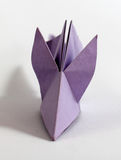 Origami mouse Royalty Free Stock Photography