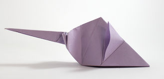 Origami mouse Stock Photos