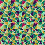 Origami nahtloser abstrakter Hintergrund Stockfoto