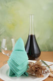 Origami napkins Stock Image