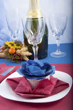 Origami napkins Royalty Free Stock Images