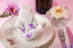 Origami napkins Royalty Free Stock Photos