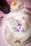 Origami napkins Stock Images
