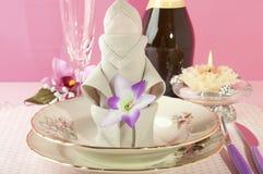 Origami napkins Royalty Free Stock Photography