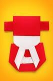 Origami ou Dieu chinois fait main de métier de papier de la richesse photos libres de droits