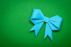 Origami papaer bow Royalty Free Stock Photos