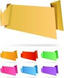 Origami paper. Stock Image