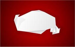 Origami paper. Stock Photos