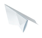 Origami paper airplane Stock Photos
