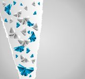 Origami paper Royalty Free Stock Photography
