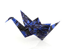 Origami paper birds Royalty Free Stock Images