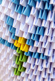 Origami with paper Royalty Free Stock Photo