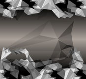 Origami paper. Eps10 Stock Photography