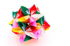 Origami paper flower Stock Photography