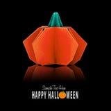 Origami paper pumpkin Stock Photos